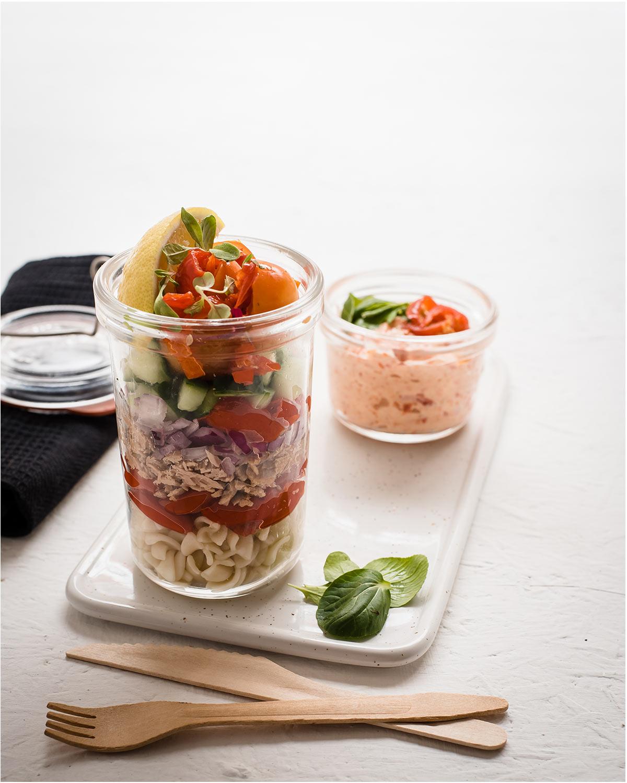 Peppadew South Africa Peppadew Sweet Piquante Pepper Tuna Pasta Salad Jar Recipe
